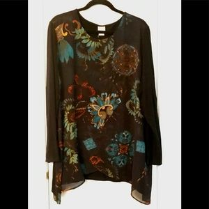 Chico's beautiful blouse size 20/22